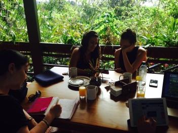 writing costa rica