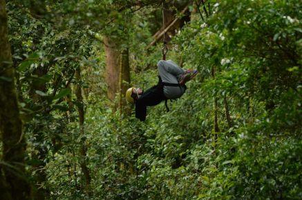 ziplining Costa Rica photo by KC